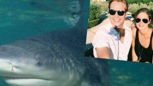 ABD'de hamile kadın eşini köpekbalığı saldırısından kurtardı