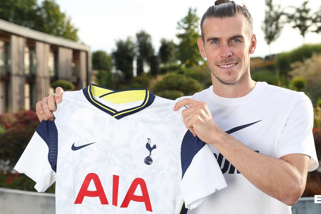 Gareth Bale, yeniden Tottenham'da
