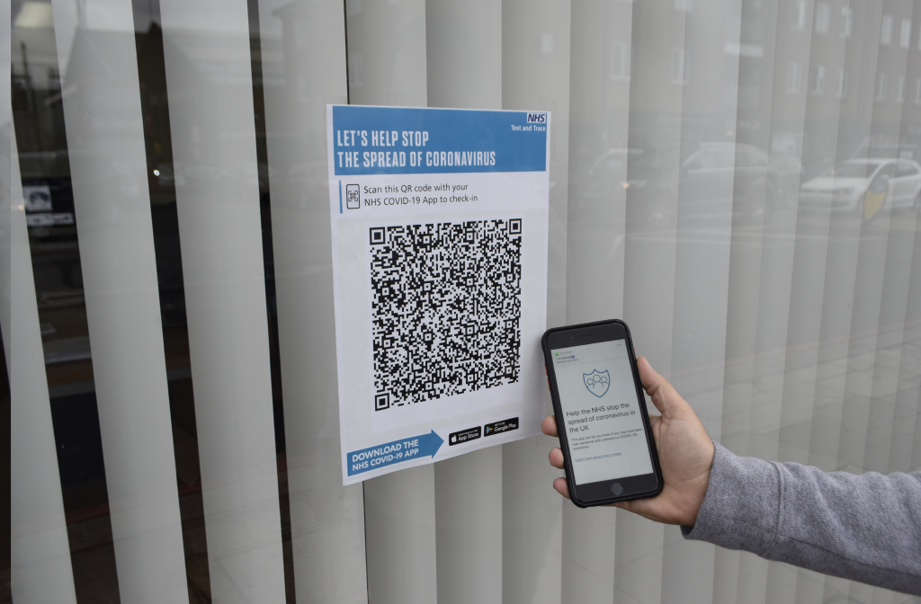 Businesses, hospitality venues and place of worship need to display QR code