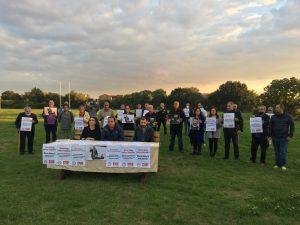 Londra'dan Barış Atay'a destek