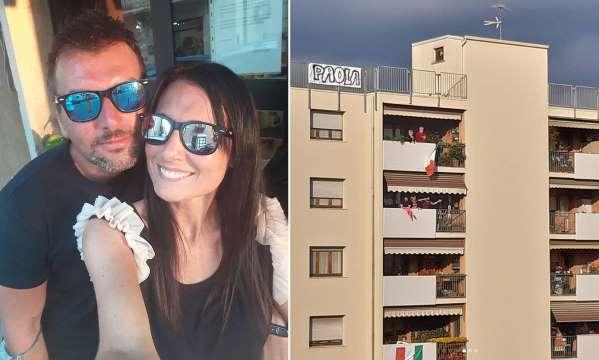 Karantina günlerinde balkonda tanışan çift evleniyor