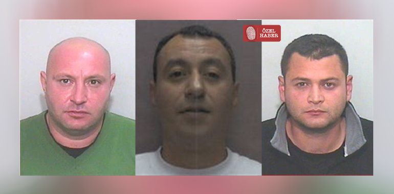 Three Turkish men in Cyprus are wanted by UK police