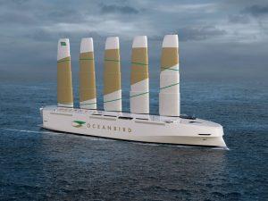 Denizlerdeki karbon emisyonlarını yüzde 90 azaltacak yelkenli kargo gemisi tanıtıldı