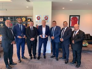 Türk Toplumu Futbol Federasyonu, TFF ile görüştü