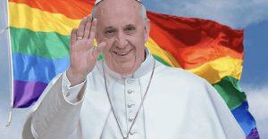 """Papa Francesco'dan LGBT derneği üyelerine: """"Tanrı çocuklarınızı oldukları gibi seviyor"""""""