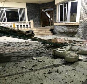 Bağdat'ta İngiliz merkezli güvenlik şirketine roketli saldırı