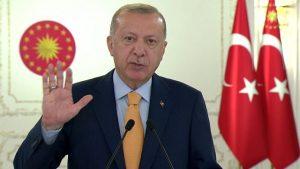 """Erdoğan, Doğu Akdeniz gerginliğinde resti çekti: """"Göz yummayız"""""""