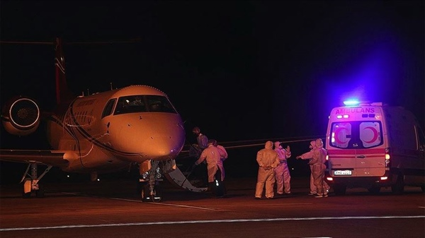 Covid-19 patients in North Cyprus been flown to Turkey for treatment