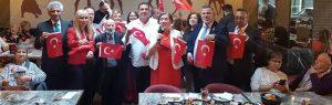 Limasollular Derneği, 30 Ağustos Zafer Bayramını kutladı