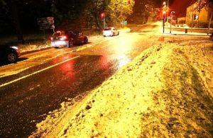 İngiltere'ye Eylül ayında kar yağdı