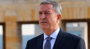 """Akar'dan Doğu Akdeniz mesajı: """"Geldikleri gibi giderler"""""""