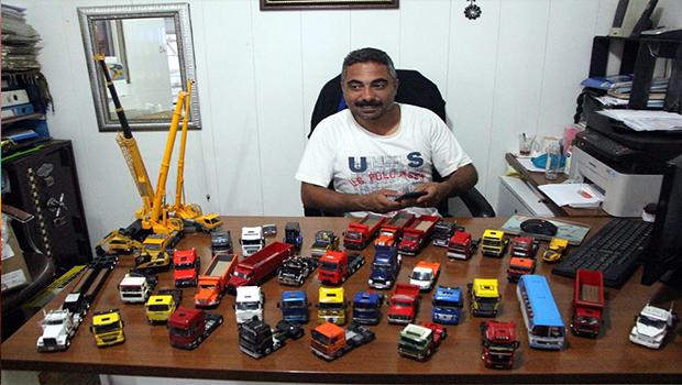 Oyuncak araç koleksiyonuna 80 bin TL harcadı