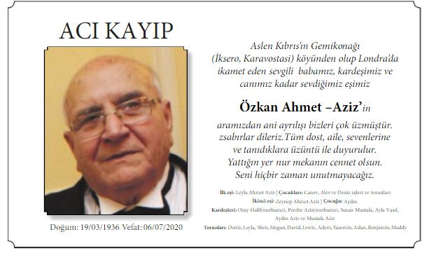 Özkan Ahmet Aziz