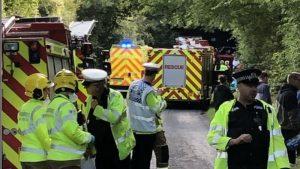 Children on school bus injured in Winchester bridge crash