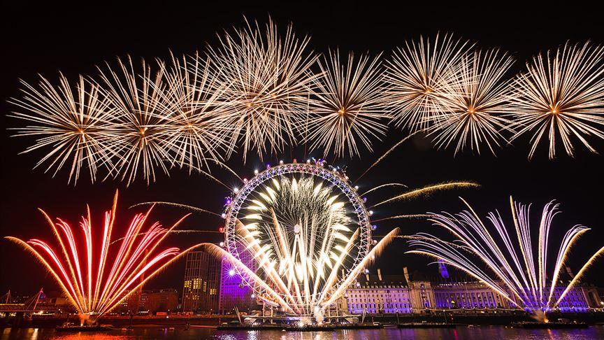 Londra'da yeni yıl etkinliklerini iptal edildi