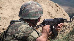 Ermenistan Azerbaycan cephe hattında sivilleri hedef aldı