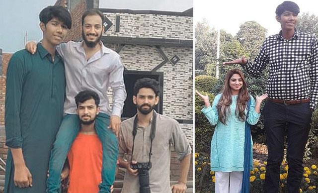 Pakistan'da 2.28 cm'lik genç görenleri hayrete düşürüyor