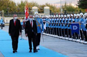 KKTC Cumhurbaşkanı Ersin Tatar Ankara'da