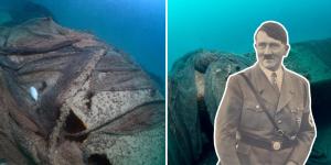 Hitler'in kayıp denizaltısı Türkiye'de görüntülendi