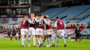 Aston Villa, 7-2'lik galibiyetle Liverpool'a tarihi hezimet yaşattı