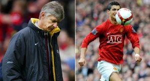 Arsene Wenger'den Cristiano Ronaldo itirafı