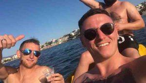 Bodrum'da bir İngiliz turist öldü, ikisinin durumu kritik