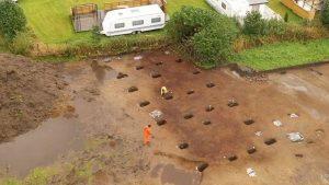 1200 yıllık pagan tapınağı kalıntıları bulundu