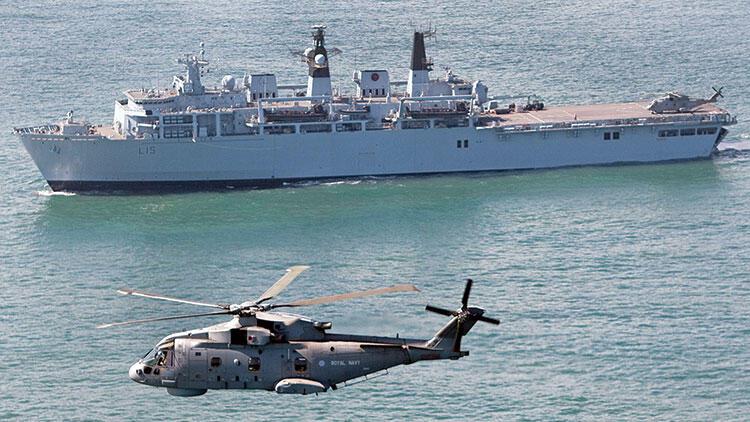 İngiltere Kıbrıs'a 2 savaş gemisi gönderdi