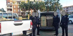 İspanya'da 3 ton uyuşturucu madde karaya vurdu