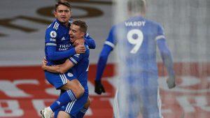 Leicester City, Arsenal deplasmanda 3 puanı aldı