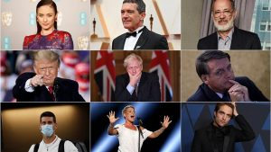 Sanat, siyaset, spor dünyasından koronavirüse yakalanan ünlüler