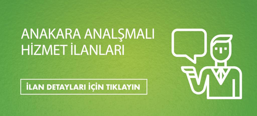 Ankara Anlaşmalı Hizmet ilanları