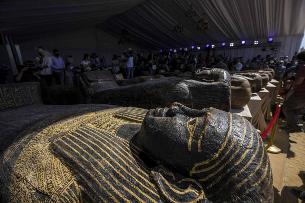 Mısır'daki  80'den fazla açılmamış lahit bulundu