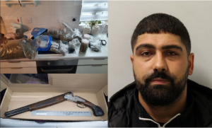 Coskun Coskun jailed 12 years for firearms and drugs offences