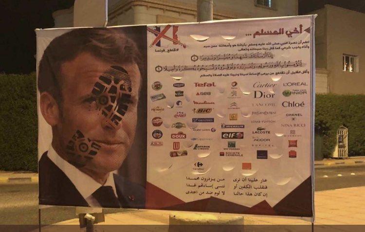 Müslüman ülkelerde Fransa'yı boykot kampanyaları