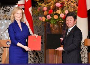 Japonya ve İngiltere serbest ticaret anlaşması imzaladı