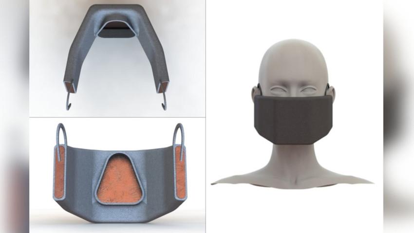 Koronavirüsünü 'ısıtarak yakan' maske üretildi