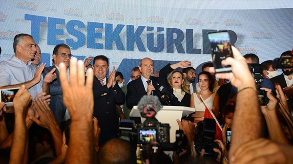 Ersin Tatar elected as new TRNC President