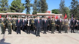 KKTC'de 29 Ekim Cumhuriyet Bayramı kutlanıyor
