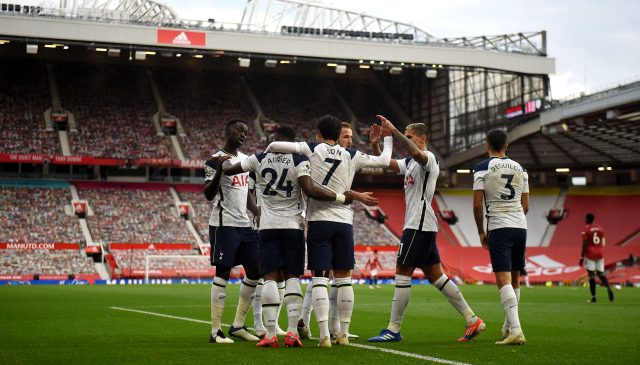 Tottenham, deplasmanda Manchester United'ı 6-1 mağlup etti