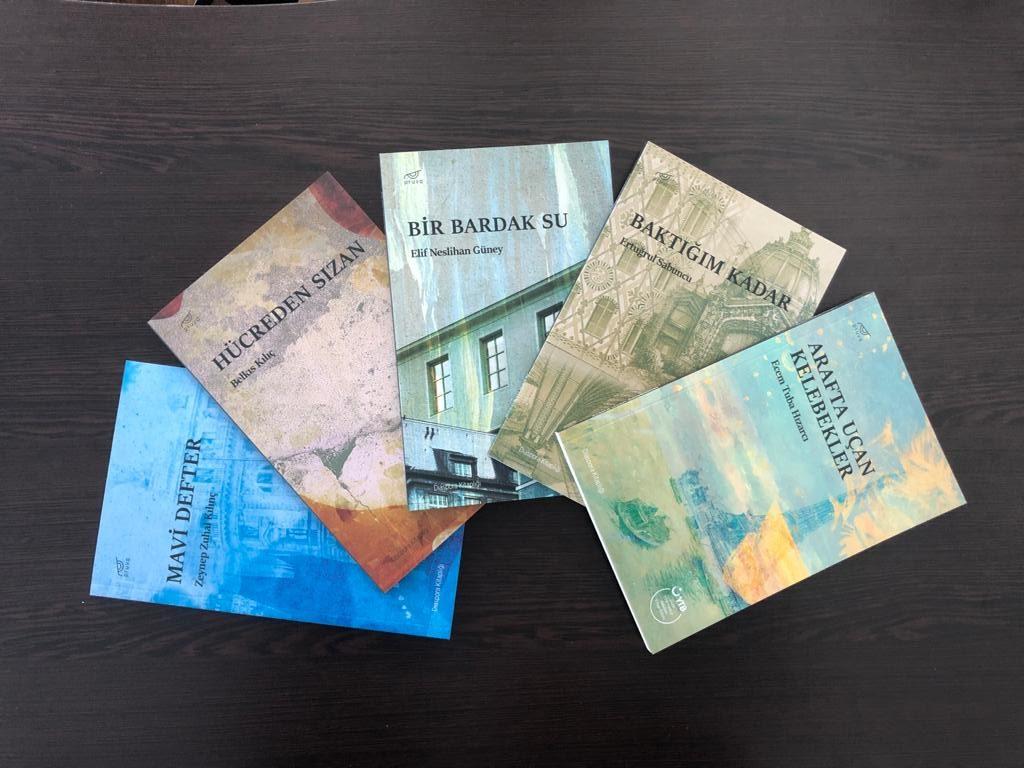 """""""YTB Türkçe ödülleri"""" yarışmasında kitap desteği kazanan genç yazarlar eserlerini anlattı"""