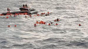 Akdeniz'de göçmen teknesi battı, biri 6 aylık bebek 6 kişi hayatını kaybetti