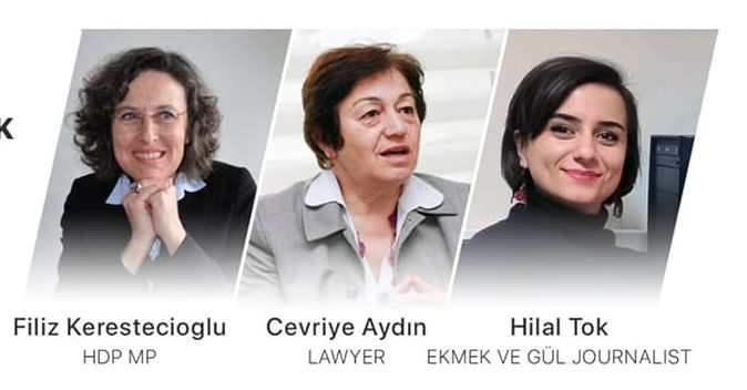 'Türkiye'de Kadın Hakları ve Mücadele' konulu panel gerçekleşti