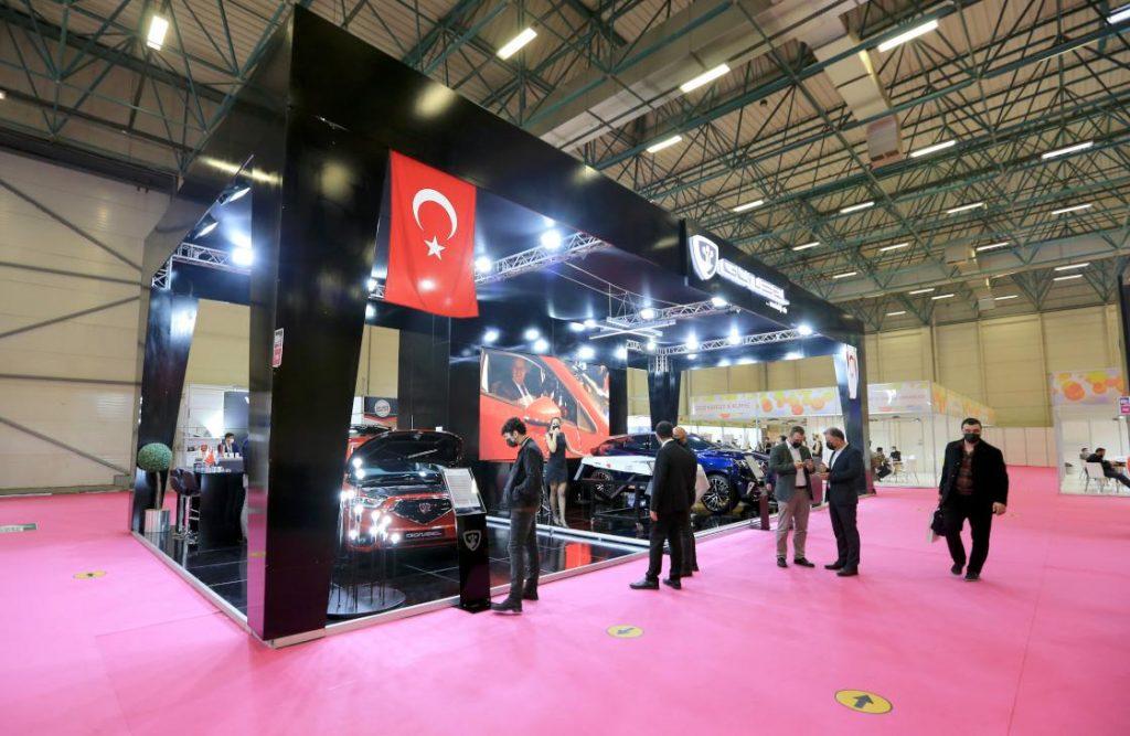 KKTC'nin ilk yerli otomobili 'Günsel' MÜSİAD EXPO'da.