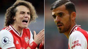 Arsenal'de David Luiz ve Dani Ceballos antrenmanda birbirine girdi