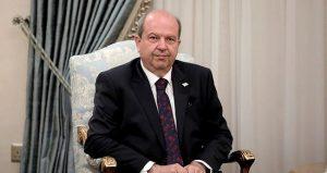 """KKTC Cumhurbaşkanı Tatar'dan Kıbrıs'ta kalıcı çözüm için """"iki devlet"""" vurgusu"""