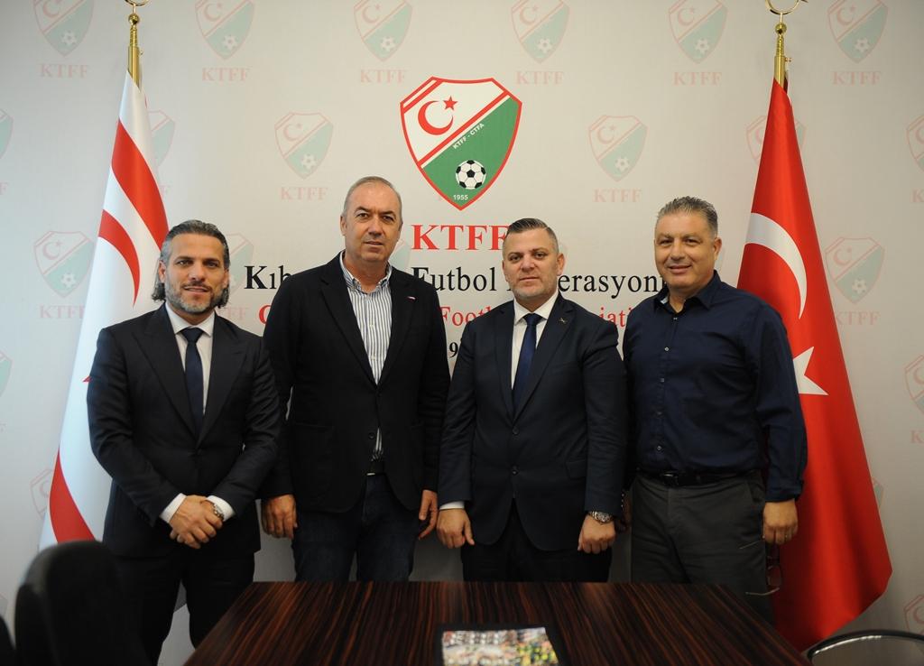TTFF'den, Kıbrıs Türk Futbol Federasyonu'na ziyaret