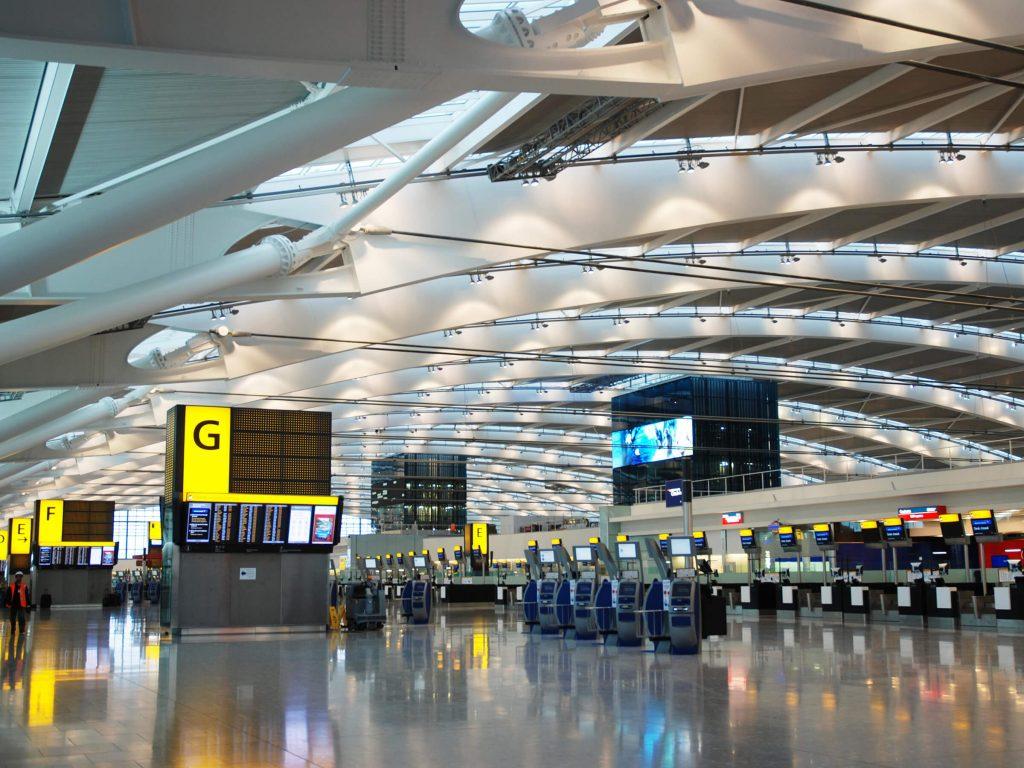 Heathrow'un trafiği Ekim ayında %82 azaldı