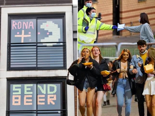 Yüzlerce öğrenciye Covid-19 ihlalleri nedeniyle uyarı ve disiplin cezası