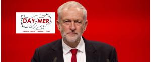 Day-Mer, Corbyn'e destek mesajı verdi